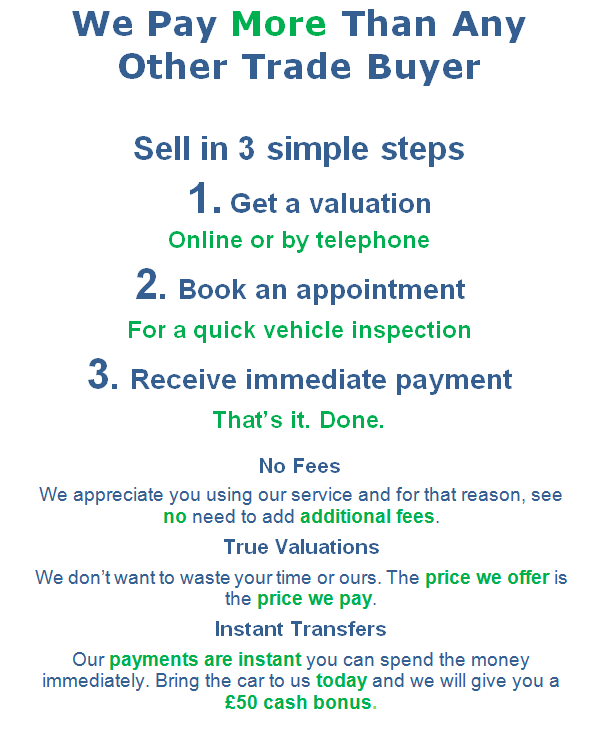 sell your car Farnborough