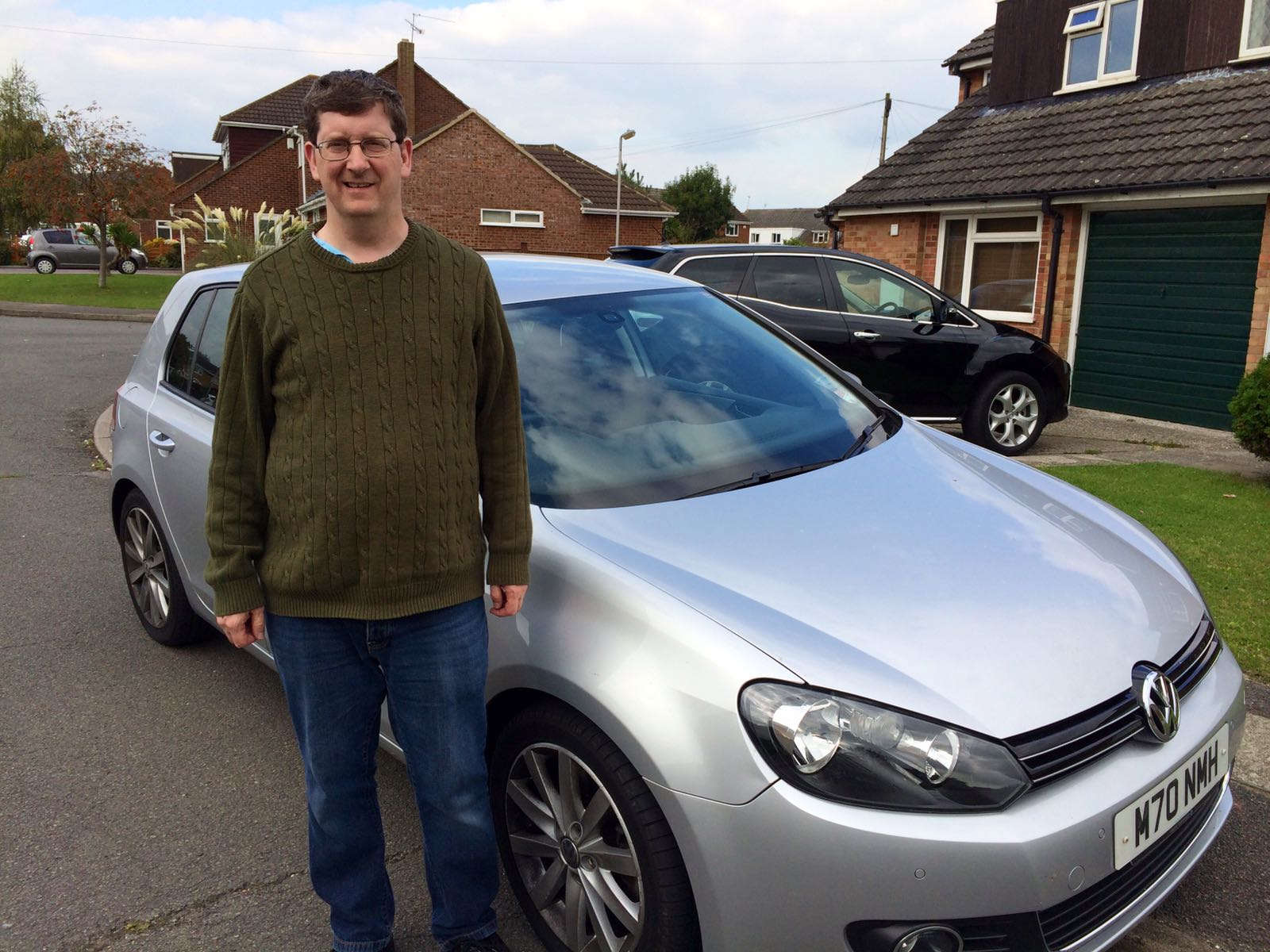 happy customer Martin Parker